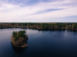 Robbins Pond - Halifax, MA. Captured with a DJI Spark. 5/18