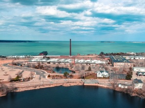 Cordage Parrk - Plymouth, MA. Captured with a DJI Spark. 4/18