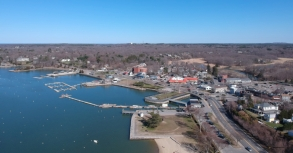 Hingham Harbor - Captured with a DJI Spark. 4/18